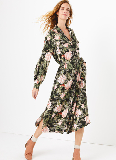 Marks & Spencer Elbise Haki